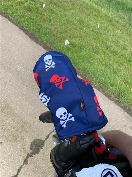 Cayce Golf Skull and Crossbones Head Cover DURA+ Review
