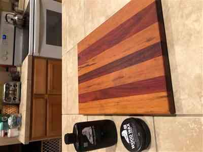 Aaron Teare verified customer review of Cutting Board Oil and Wood Wax, Bundle