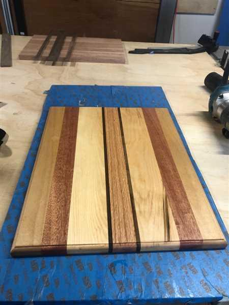 Dan Ortiz verified customer review of Cutting Board Oil and Wood Wax, Bundle