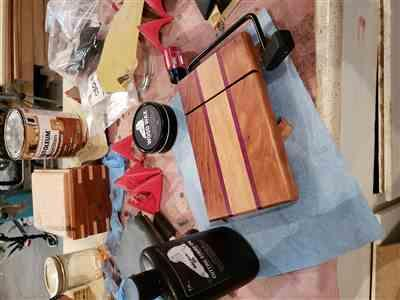 Eric  verified customer review of Cutting Board Oil and Wood Wax, Bundle