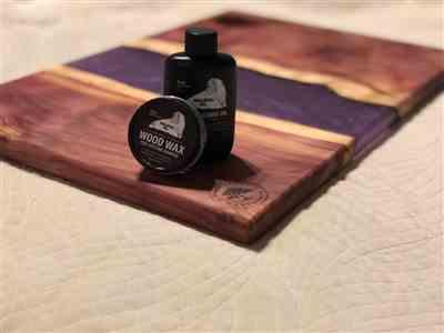 Michael Meeks verified customer review of Cutting Board Oil and Wood Wax, Small Sizes (Case of 24 Each)
