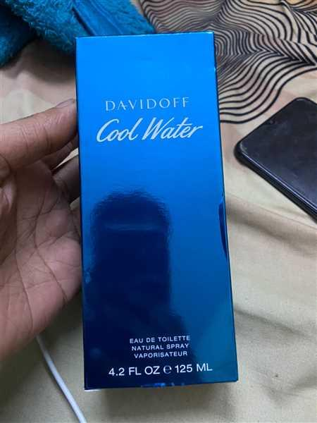 NItin M. verified customer review of Davidoff Cool Water For Men Eau De Toilette 125Ml