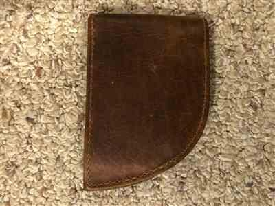 Allen Matkovich verified customer review of Rogue Front Pocket Wallet in Bison