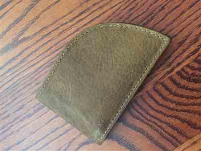 Ronald England verified customer review of Factory Second Made in Maine Front Pocket Wallet