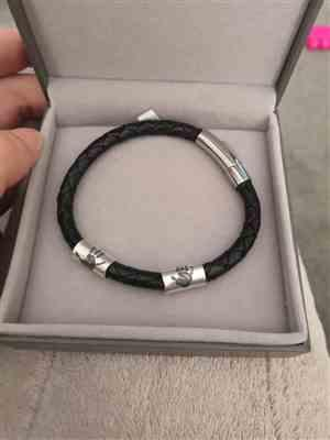 Rachael Sibbett-coulson verified customer review of Handprint Or Footprint Leather Bead Bracelet, One Charm