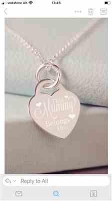 Dee Yeatman verified customer review of This Mummy Belongs To Necklace