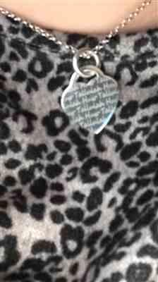 Stephanie Cowlen verified customer review of Silver Heart Name Necklace