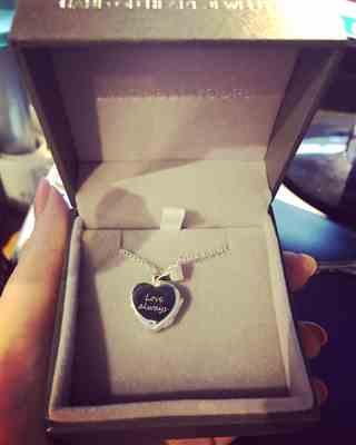 Amanda Pratt verified customer review of Baby Heartbeat Locket