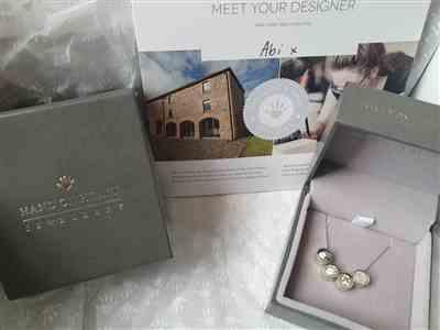 Vicky Seagars verified customer review of Family Necklace, One Handprint or Footprint Charm