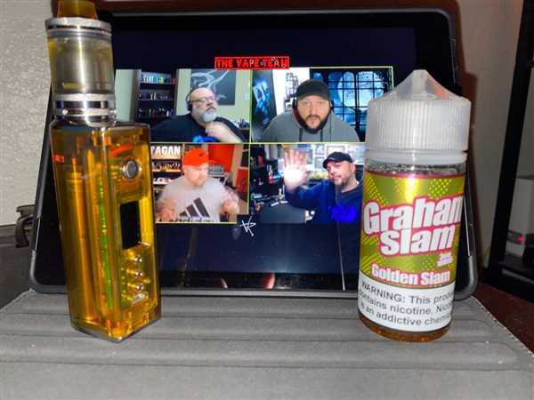 Justin Chapman verified customer review of Golden Slam - Graham Slam - 100ml