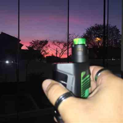 Marcelo B. verified customer review of Pulse Dual Kit with Pulse V2 RDA by TonyB & Vandy Vape