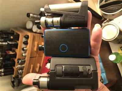 Marcus Mikesell verified customer review of WOTOFO DYADIC SQUONK MOD