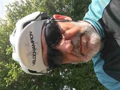 Brian M. verified customer review of VELOCHAMPION Cycling Tech Cap - White with World Champs Band