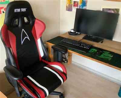 Lars C. verified customer review of GAMING CHAIR – STAR TREK EDITION