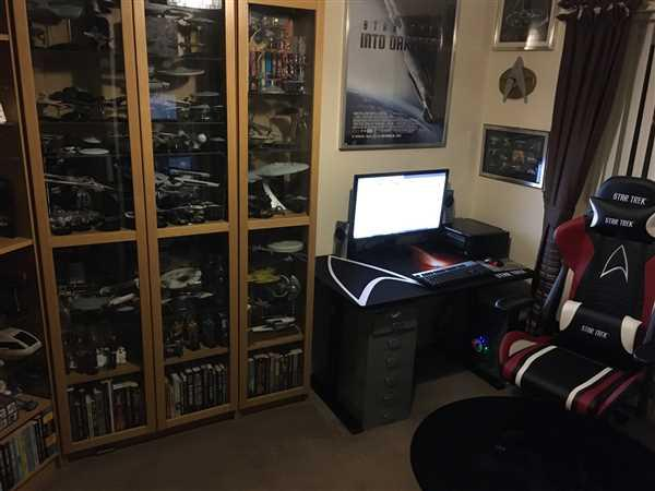 IAIN BAILLIE verified customer review of GAMING CHAIR – STAR TREK EDITION