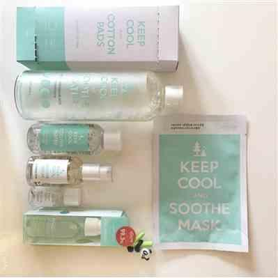 Keyaani verified customer review of KEEP COOL Soothe Phyto Green Cleansing Water