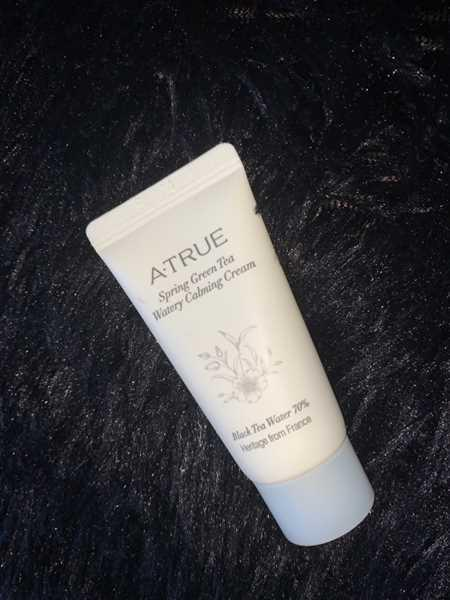 Skin Library ATRUE Spring Green Tea Watery Calm Cream 15g (Sample Size) Review
