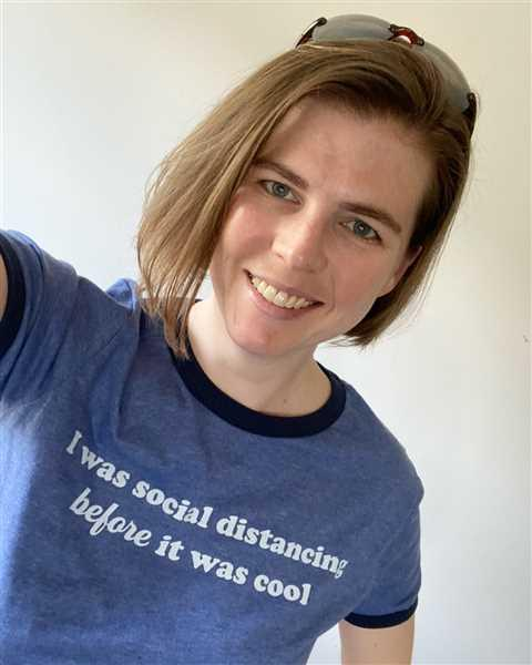 Introvert, Dear I Was Social Distancing Before It Was Cool Ringer Tee Review