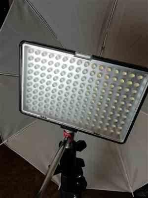 Samantha J verified customer review of LED Video Lights with Stands (BATTERY POWERED/POWER ADAPTER)