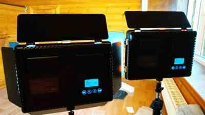 The Ring Light Store 2 in 1 LED Video Light Kit With Tripod 5500K CRI 95 Review