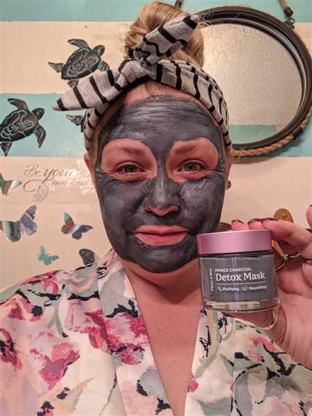 Sunny Plemmons verified customer review of Prince Charcoal / Natural Detox Mask