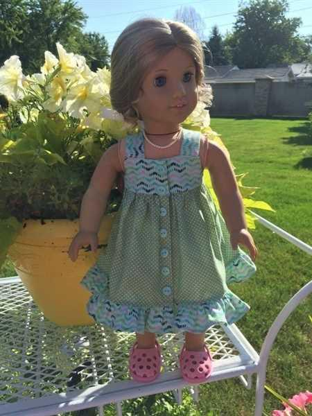 Phyllis Geary verified customer review of Fun in the Sun 18 Doll Clothes Pattern