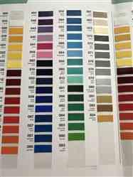 verified customer review of Oracal Vinyl Color Chart