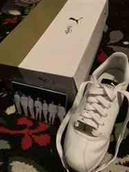 Lexine M. verified customer review of Puma x Bts Turin Shoes | Made by BTS