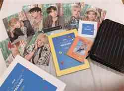 Tran M. verified customer review of BTS Summer Package Vol.4 Photobook 196P + Making DVD + Guidebook 20P / 1 kind of 7 random + Mini Poster 7EA + Strap + Travel Topper