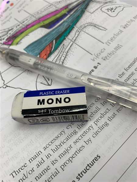 Wafaa Hagos verified customer review of Tombow Mono Eraser - Small Size