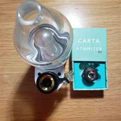 Robert W. verified customer review of Carta Vape Rig V2