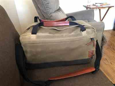 Ramiro Martinez Ortiz verified customer review of Duffel