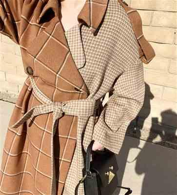 Joann.  verified customer review of Mixer Brown Trench Coat