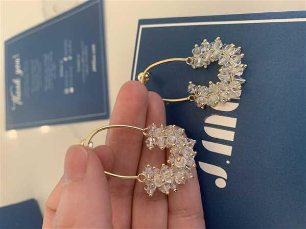 YI TU verified customer review of Dazzle Earrings