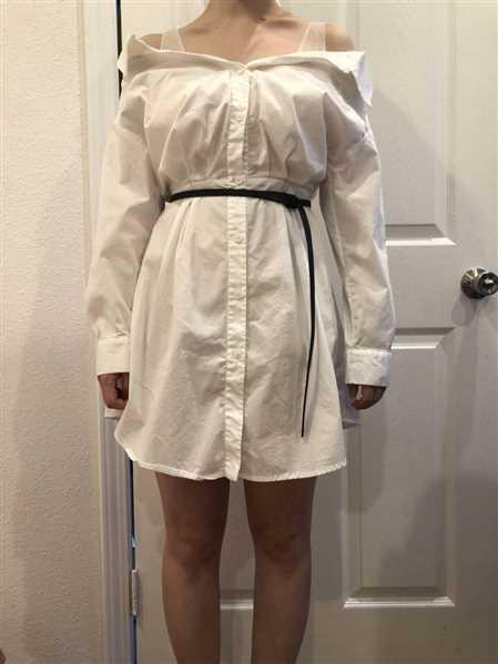J.ING Shilo White Layered Tunic Dress Review