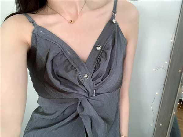 Harper verified customer review of Ibiza Grey Camisole