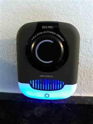 Sally Mitchan verified customer review of Airthereal B50-PRO Mini Ozone Generator, 330 sq.ft.