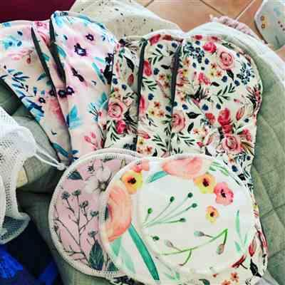 Madisson J. verified customer review of Reusable Cloth Postpartum Pads - multi packages