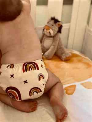 Tara Cairns verified customer review of Modern Cloth Nappy - Rainbow (Earth Tones)