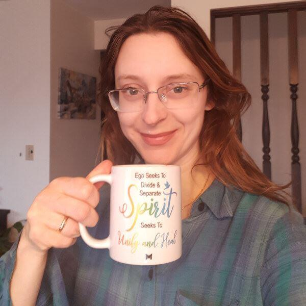 The Miracles Store Spirit Seeks To Unify And Heal - Mug (ACIM) Review