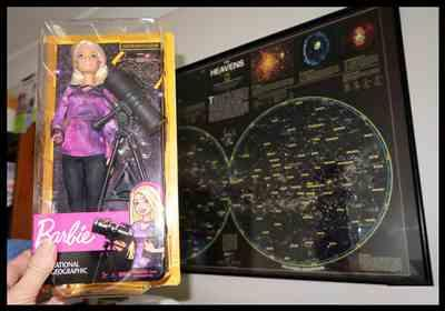 Noeleen verified customer review of Barbie Astrophysicist Doll