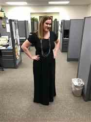 ruth verified customer review of Casual Long Dresses with Pockets
