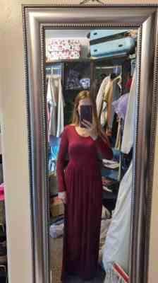Weslily.com Long Sleeve Maxi Dress with Pockets Review
