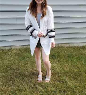 Weslily.com Long Sleeve Knit Cardigan with Pockets Review