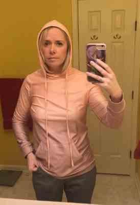 Weslily.com Ombre Hoodied Sweatshirt with Front Pockets Review