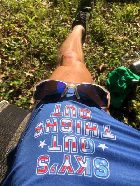 Tom Brabston verified customer review of Sky's Out, Thighs Out