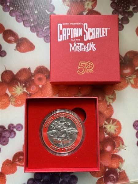 Mark White verified customer review of Captain Scarlet And The Mysterons 50th Anniversary Limited Edition Challenge Coin