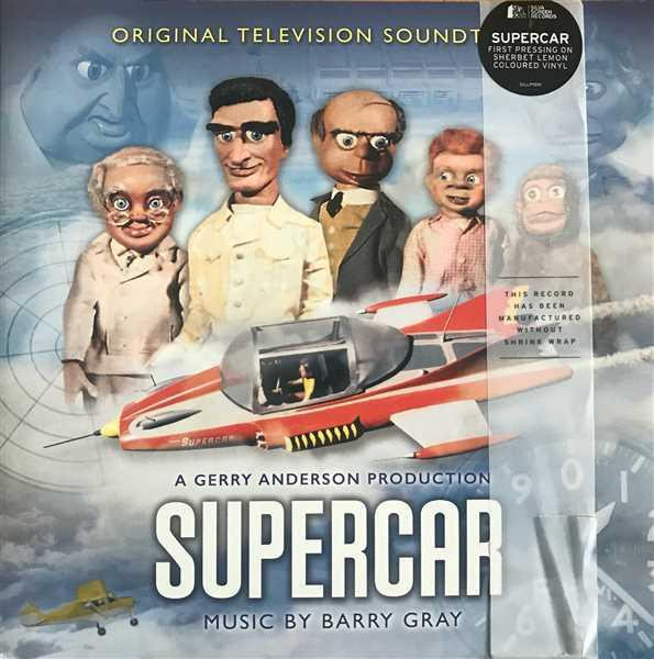 Jim Wicks verified customer review of Supercar: Original TV Soundtrack: Limited Edition Coloured Vinyl (LP)