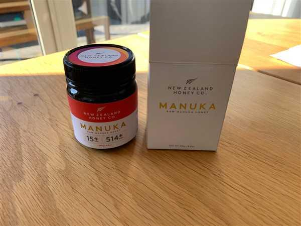 New Zealand Honey Co.™ Manuka Honey UMF™ 15+ | MGO 514+ Review
