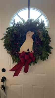 Kate Smith verified customer review of Rustic Wreath Hanger